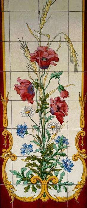 Carrelage fleurs v2