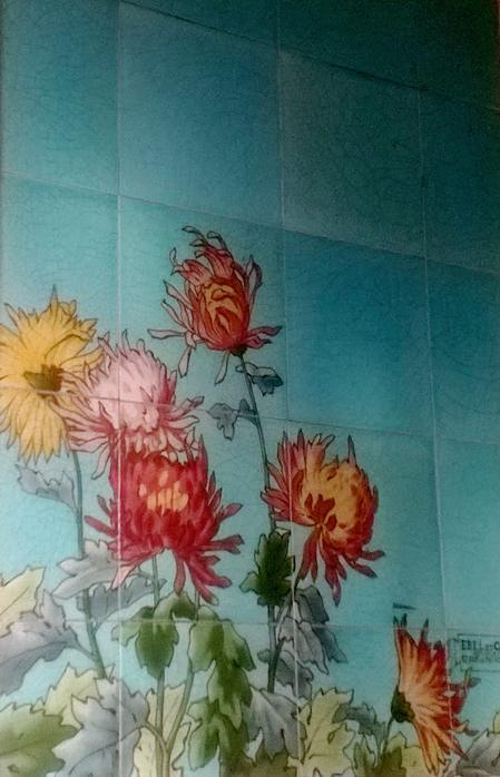 Carrelage fleurs v3