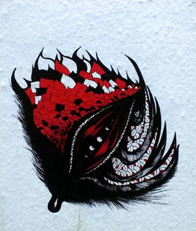 Dessin rouge 2