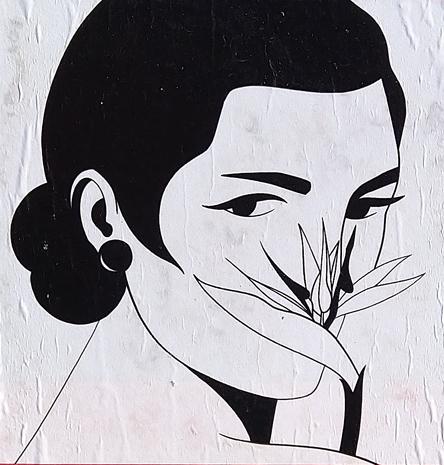 Fem fleur ois