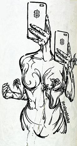 Femme portable 1
