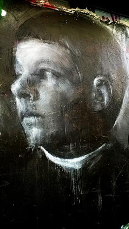 Fresque visage enfant 1