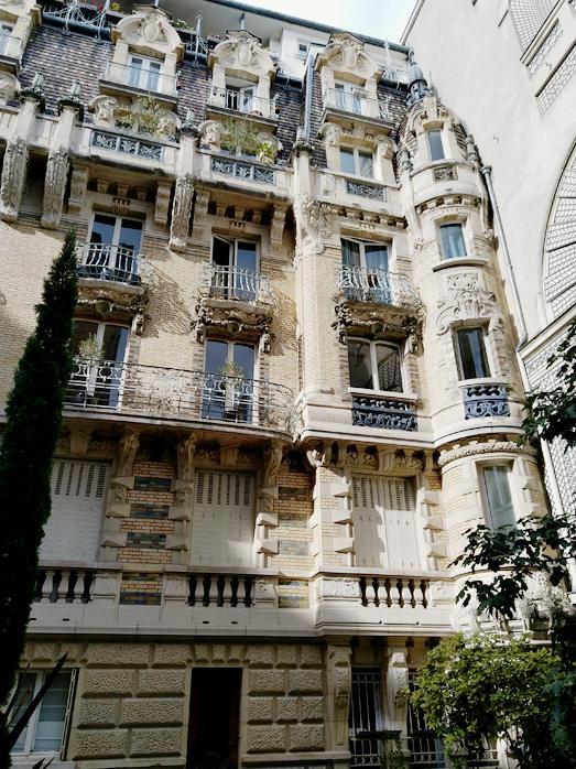 Immeuble art nouveau 1 square rapp 2