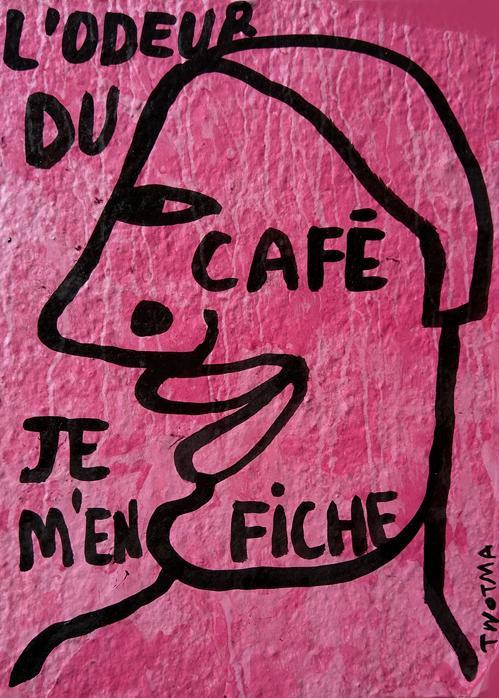 Lodeur du cafe