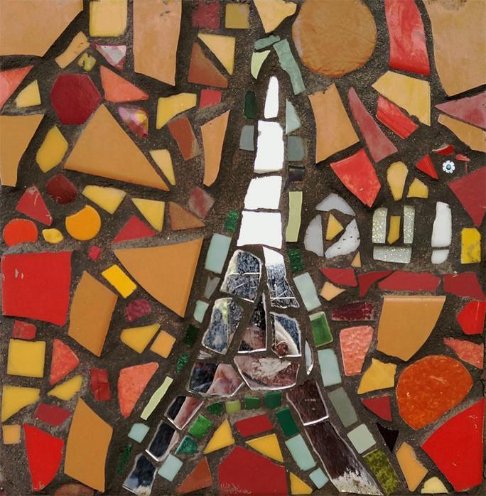 Mosaique belvedere de belleville 1