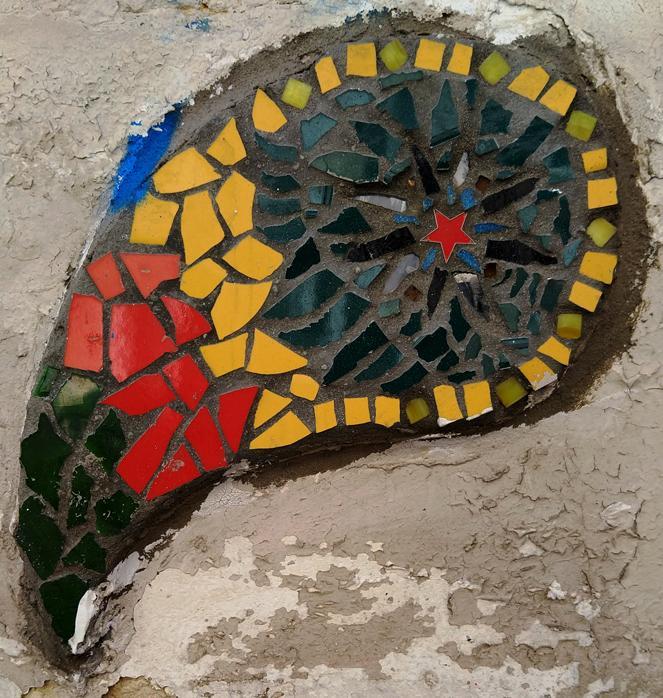 Mosaique belvedere de belleville 10