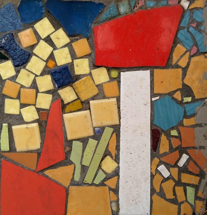 Mosaique belvedere de belleville 11