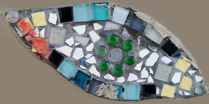 Mosaique belvedere de belleville 7