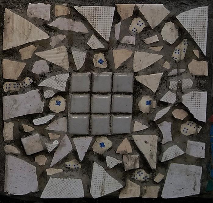 Mosaique carree bdb 7