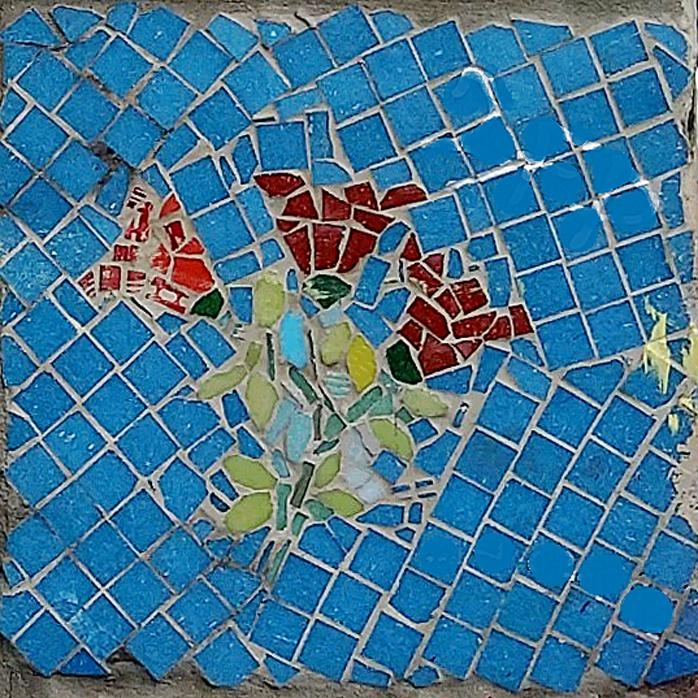 Mosaique carree bdb5