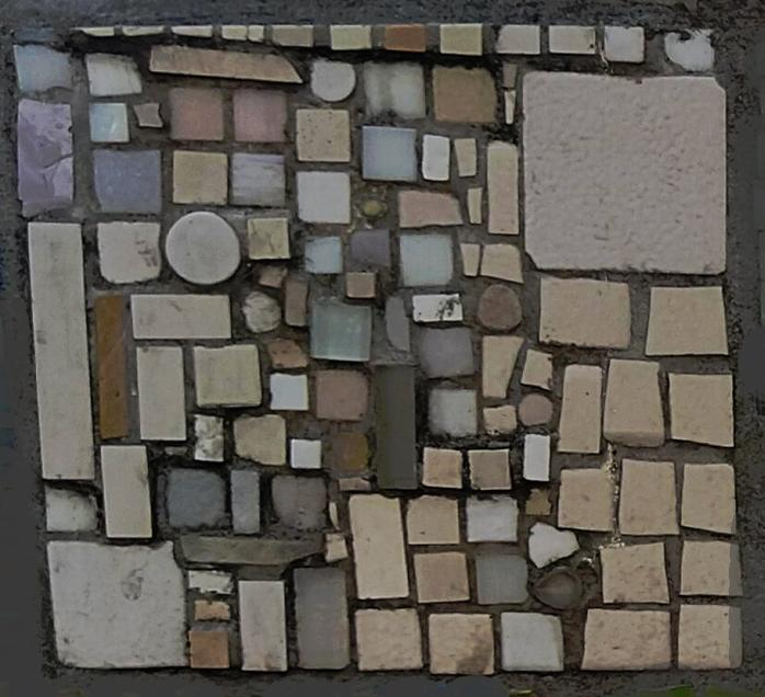 Mosaique rectangulaire bdb 9