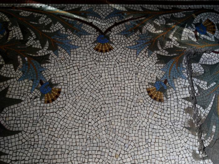 Mosaiques entree lycee italien leonardo da vinci 2