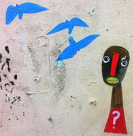 Oiseaux bleus et africain 1