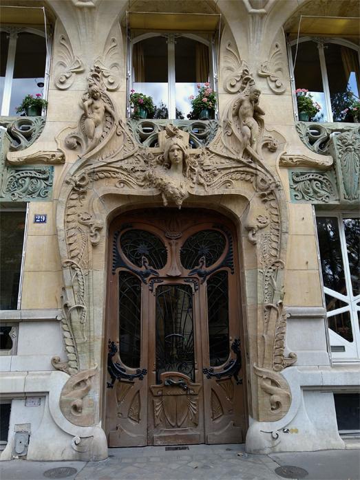 Pan9999992 l immeuble lavirotte 29 avenue rapp detail