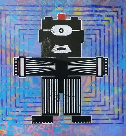 Robo bouton