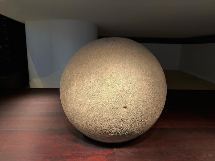 Sphere de pierre
