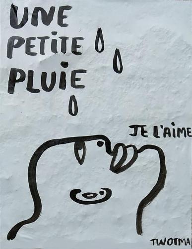 Une petite pluie
